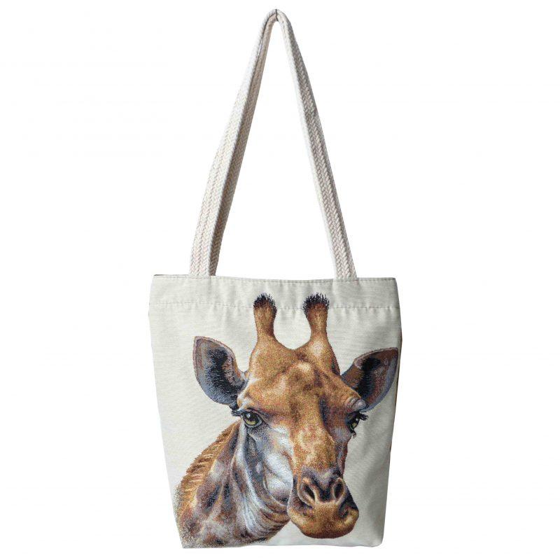 Torebka typu shopper Żyrafa